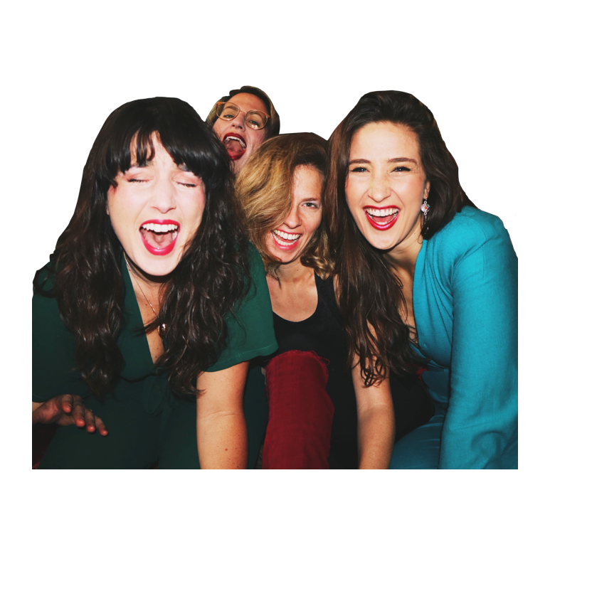Group of women laughing